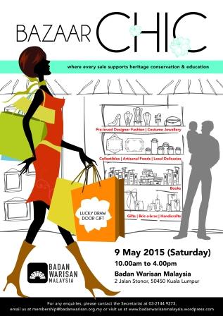 Bazaar Chic Promo Poster