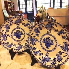 Set of Georgian plates @RM180/set