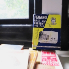 Penang: Past and Present 1789-1963- City Council of George Town. It demonstrates stories, histories, and formation of Penang from the period of time. It is a historical account that explains the important events that ever happened in the state.