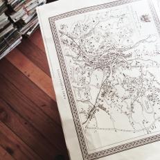 1926 Map of KL/Georgetown/Melaka @ RM40/item