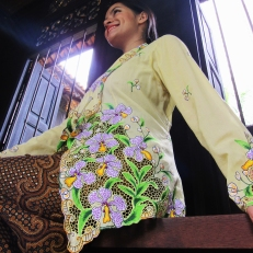 Orchid Motives Kebaya