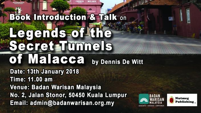 Tunnels Badan Warisan Ad Poster