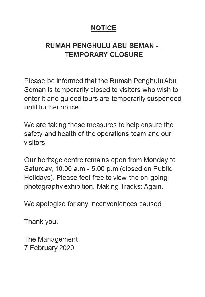 revised notice